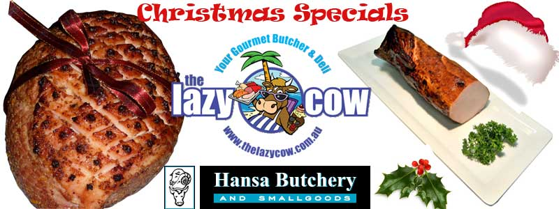 The Lazy Cow Banner